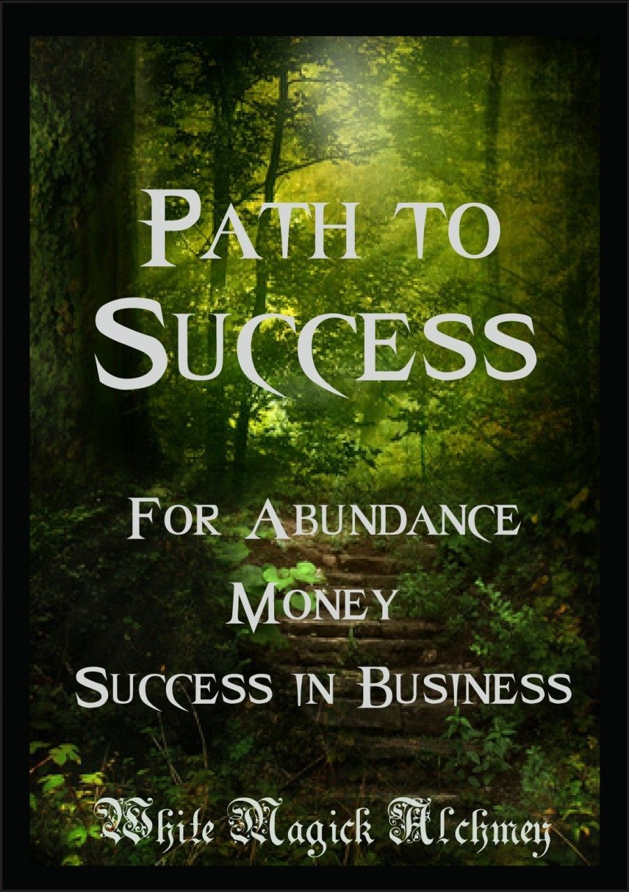 Path To Success Ritual Spell Jar Vigil Candle Abundance Success In Business Life And Love Prosperity Luck Money Drawing Prosperity Spell Success Business Life
