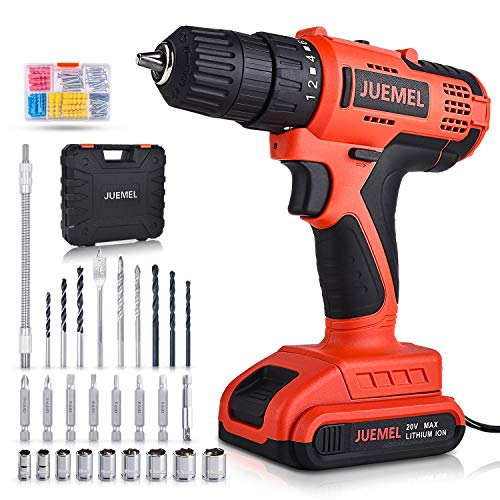 20v Cordless Drill Driver Juemel 100pcs Accessories Electric Power Drill Set Best Offer Backyardequip Com In 2020 Cordless Drill Reviews Cordless Drill Drill Driver