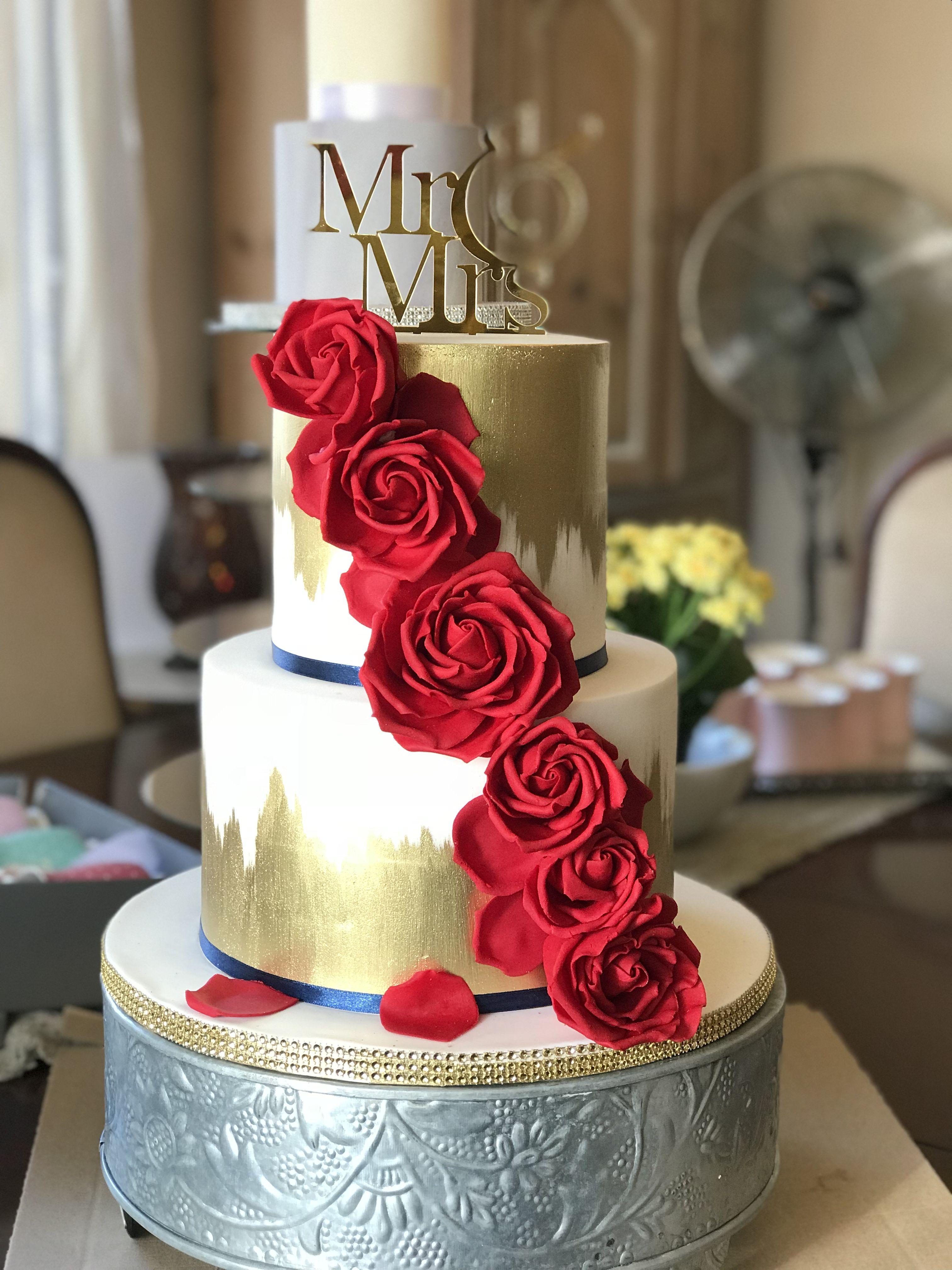 Wedding Cake Red And Gold Amazing Wedding Cakes Wedding Cake Red Wedding Cakes