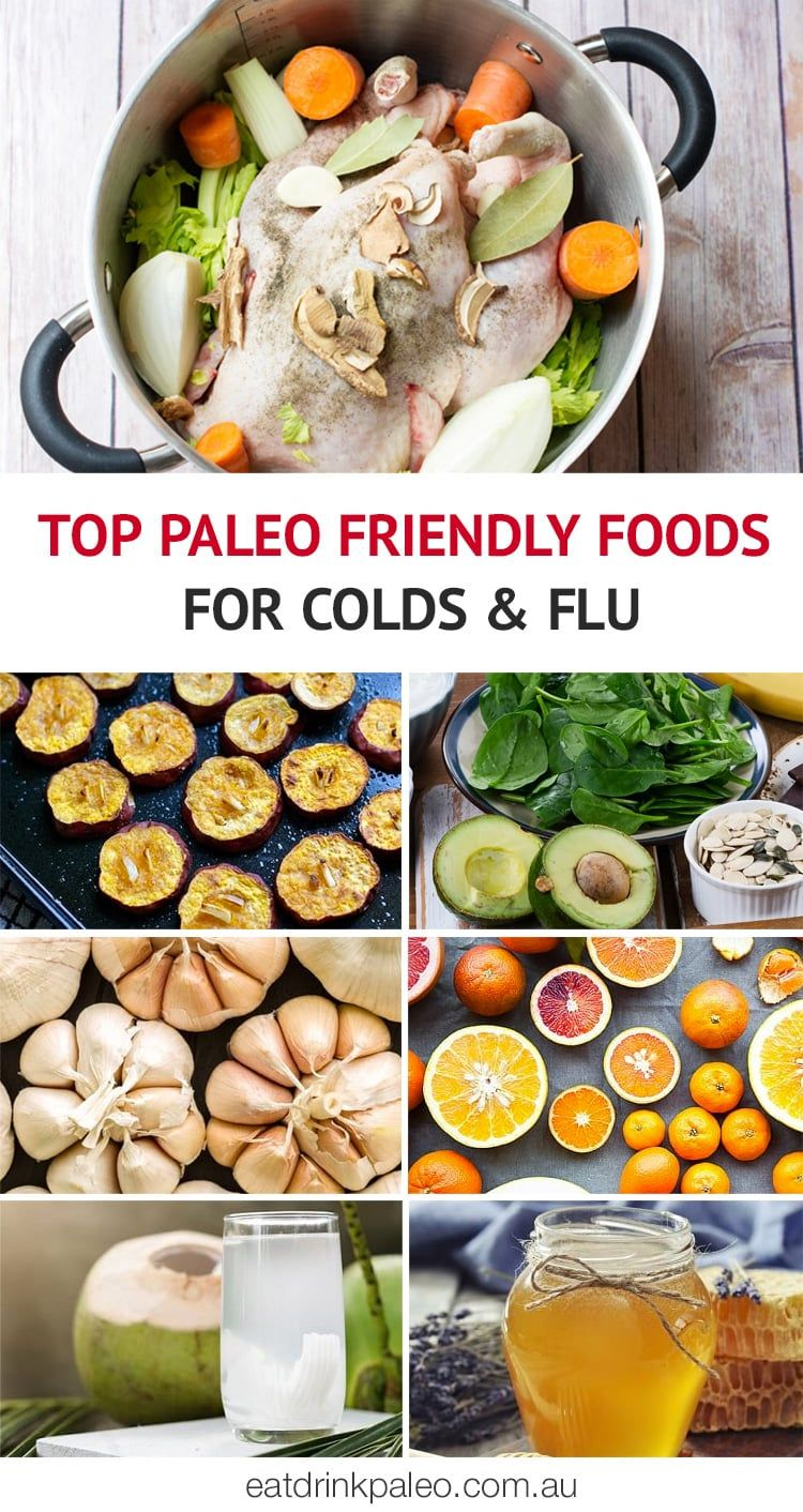 Best food options for a cold