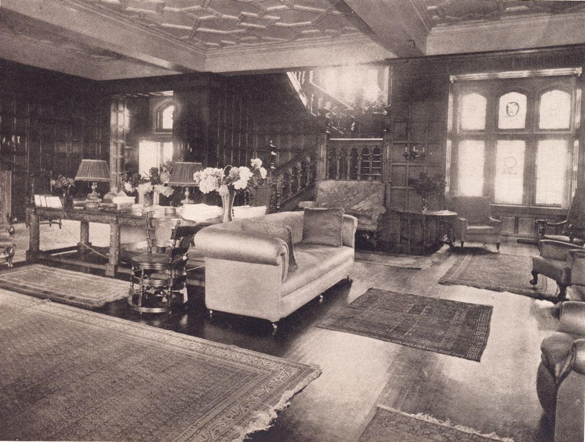 Thornewood Castle Tacoma Washington Hall From South