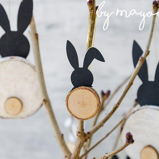 Photo of Sur mon blog, je vous montre aujourd'hui comment mon arbuste de Pâques