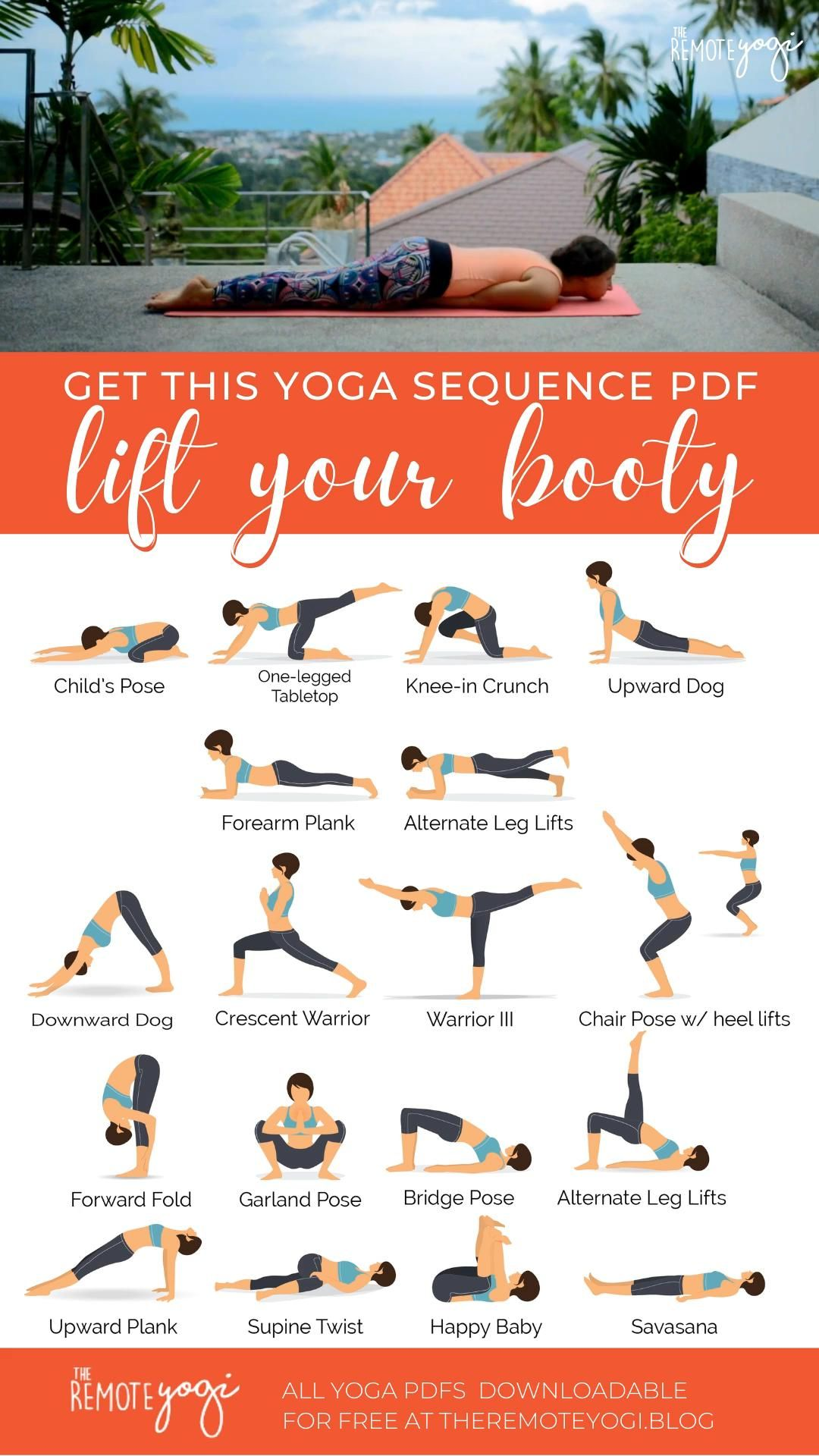 Lift Your Booty Yoga Sequence