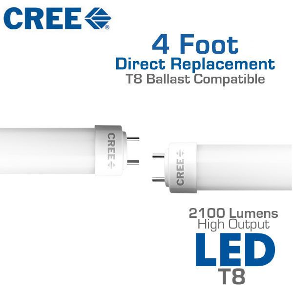Amazing LED T8 Fluorescent Replacement Tube 2100 Lumen High Output For Your Home - Review light ballast replacement Awesome