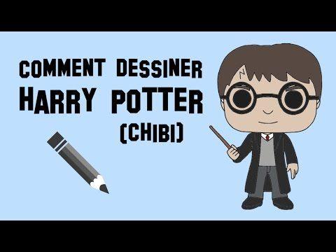 Comment dessiner harry potter chibi youtube pin - Dessin harry potter facile ...