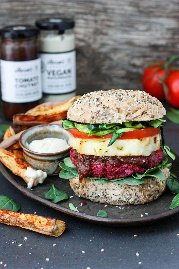Vegan Beetroot Burger | Vegan Recipes - Healthy Eating Jo - The Healthy Plant Based Foodie