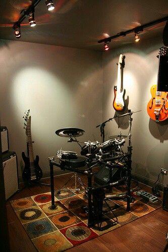 Band Room Design: Music Studio Room, Music Bedroom, Home