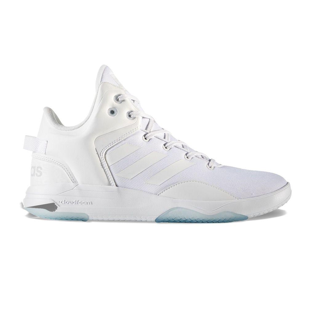 adidas neo men's cloudfoam revival mid basketball shoe