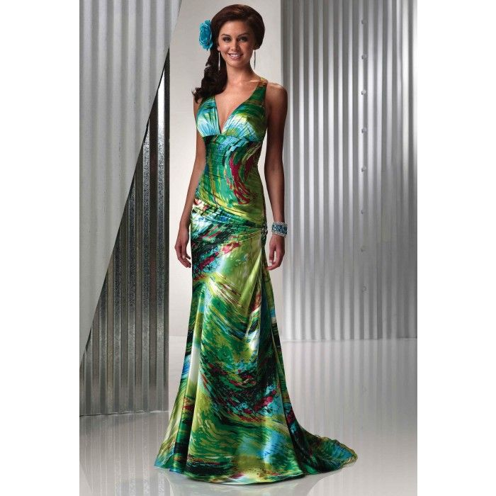 Tropical Bridesmaid Dresses for Weddings | Evening Dresses Tropical ...