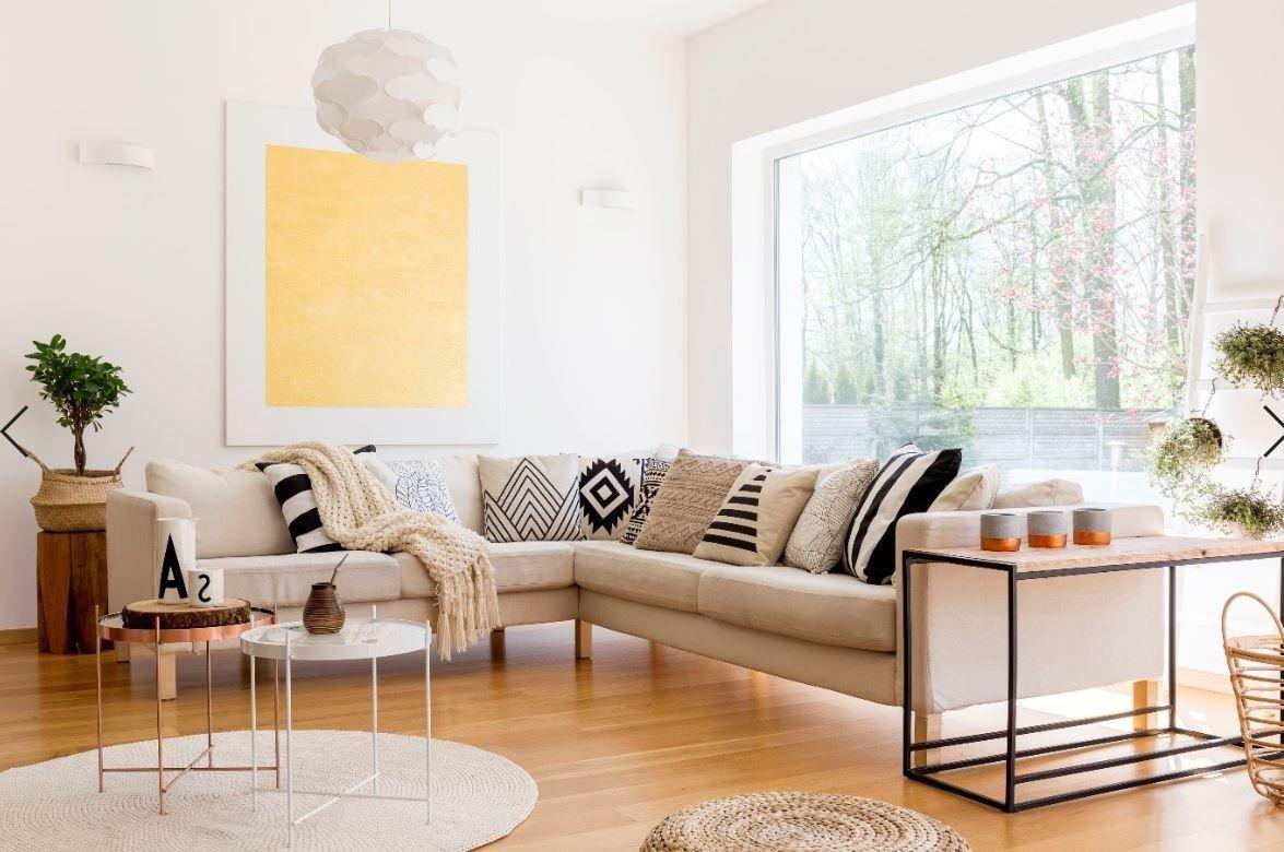 Décoration salon beige et blanc : nos idées et inspirations