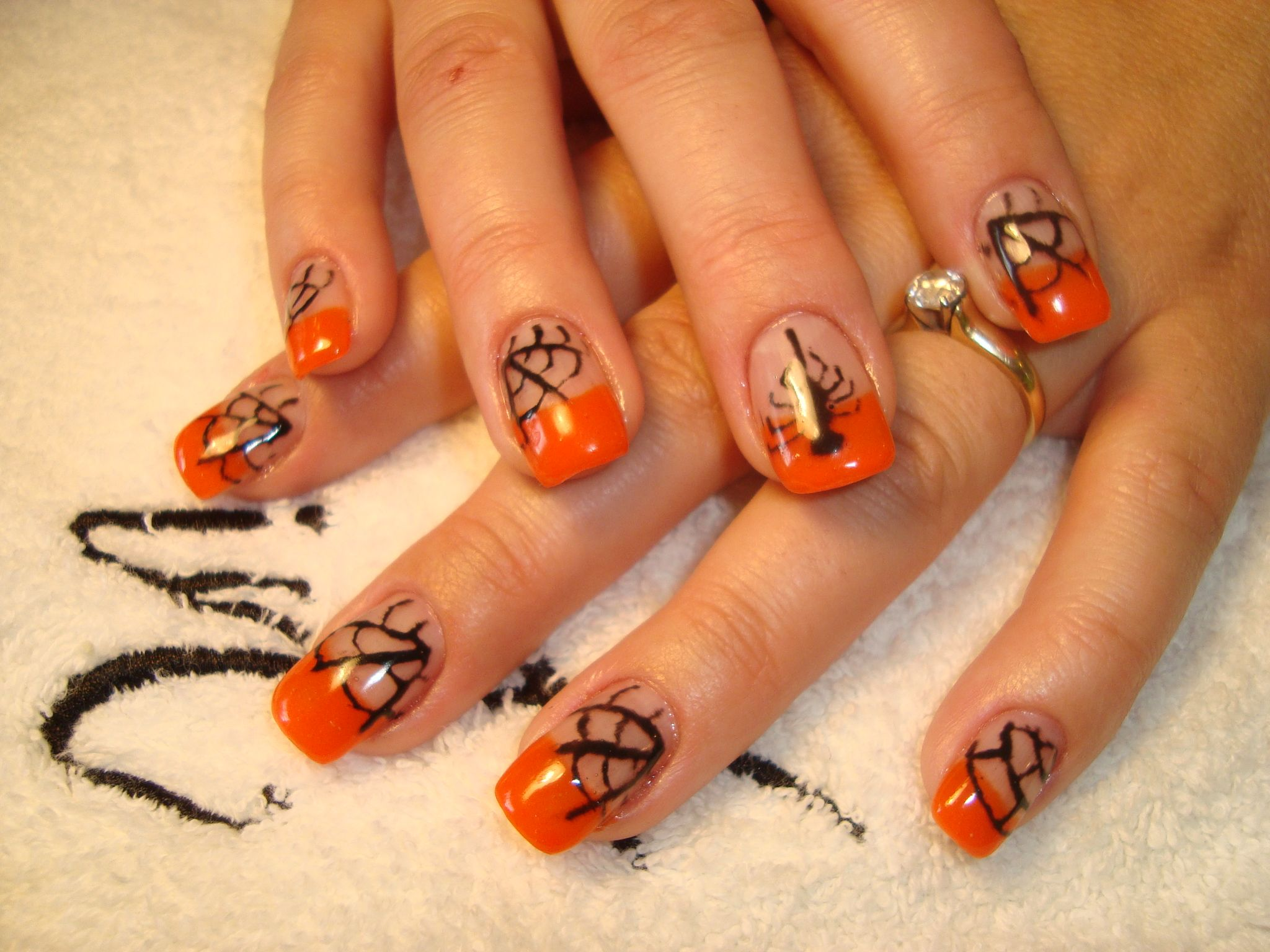 halloween fun | Gel nails, Nails, Halloween fun