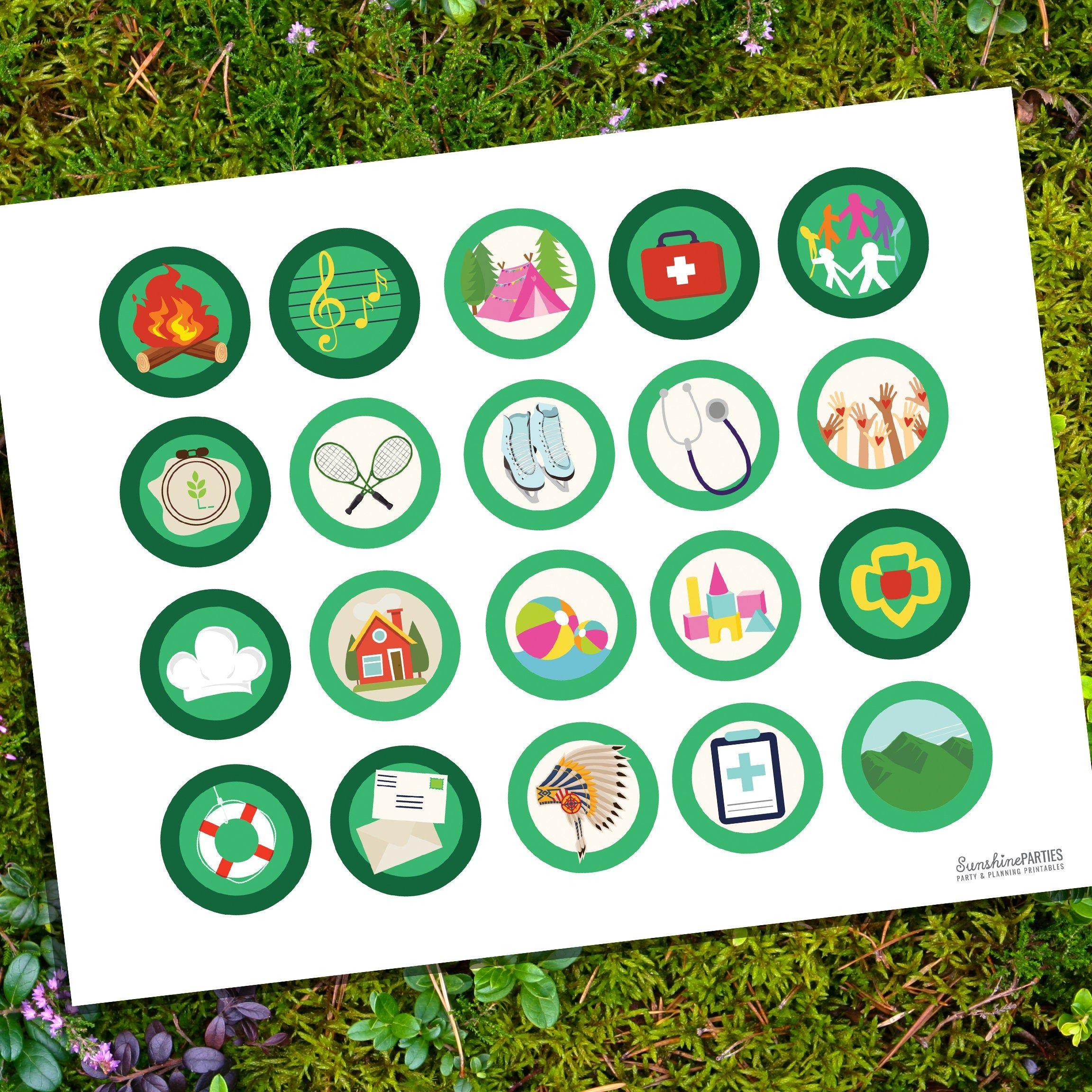 Girl Scout Printable Merit Badges