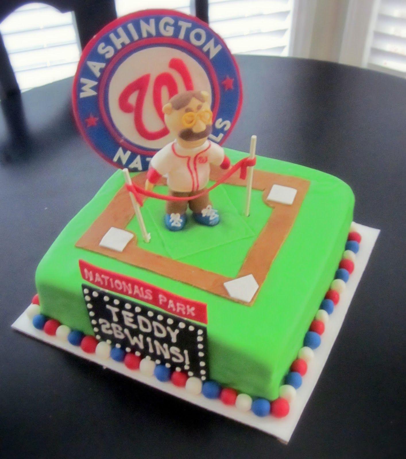 Washington Nationals cake Major League Baking Pinterest Cake