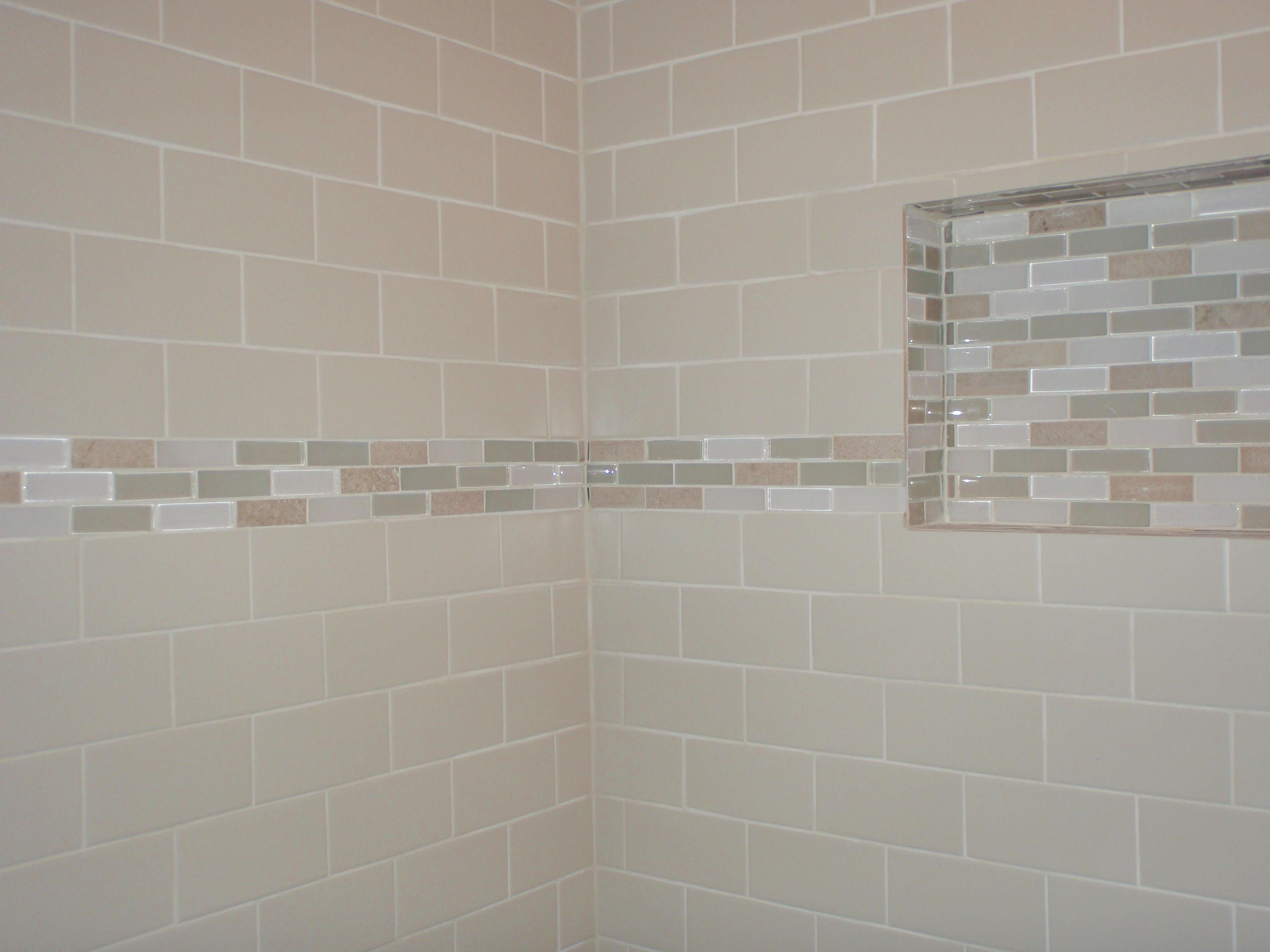 No day of rest subway tiles tile tub surround and tub for Tile shower surround