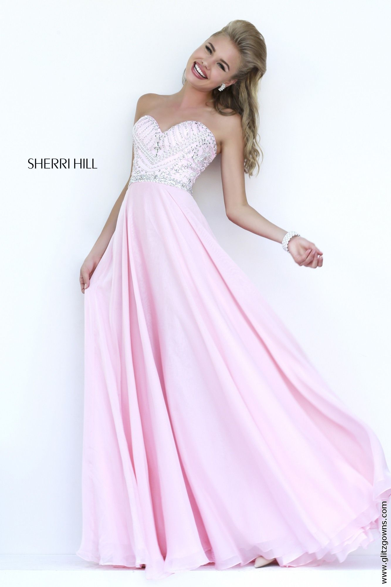 Glitz sherri hill dreaming pinterest prom homecoming