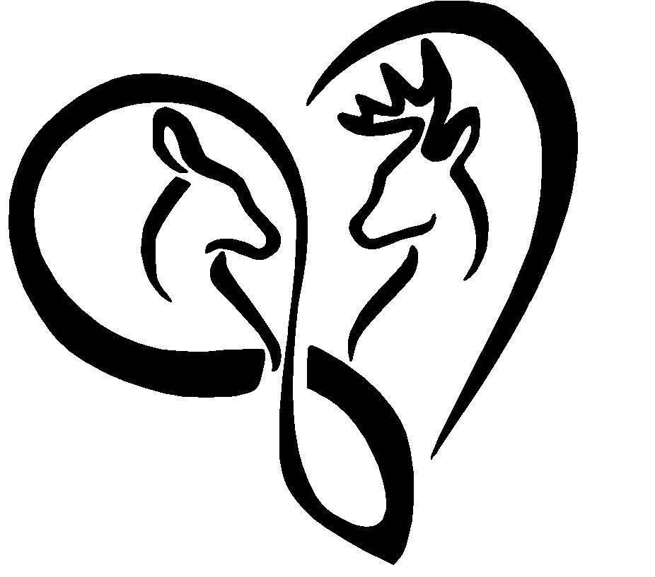 Download Buck and Doe Infinity Love Heart Vinyl Decal window laptop ...