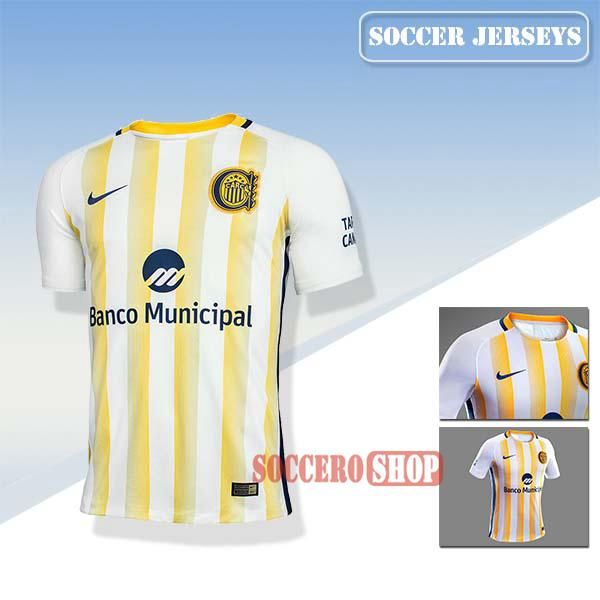 Nice Rosario Central Latest Away Soccer Jerseys 2017 2018 Replica Personalised Printing | Soccero-Shop