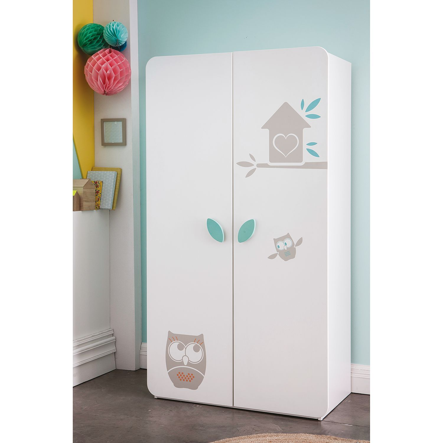 Kleiderschrank Hiboux (With images) Kids room furniture