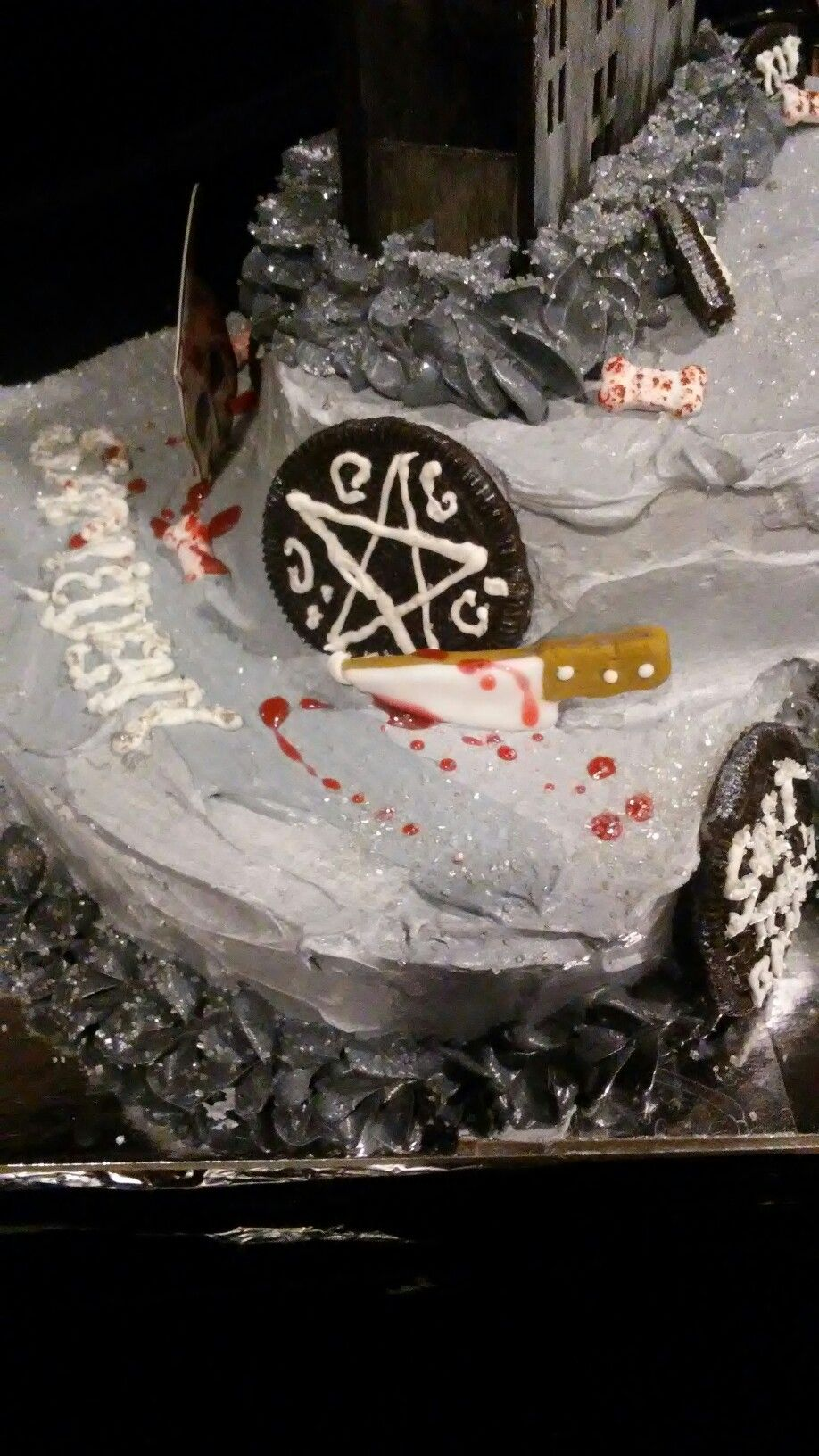 Supernatural birthday cake Supernatural Birthday Cake Pinterest