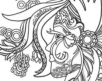 halloween therapy coloring pages - photo#46