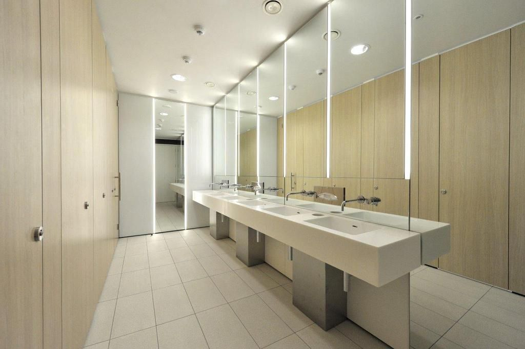 Commercial restroom design google pinteres for New washroom designs