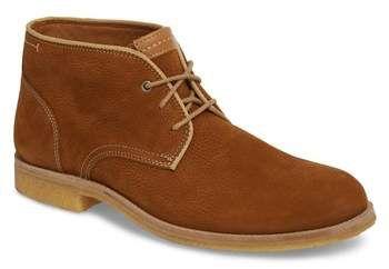 J&M Men's 1850 Howell Water Resistant Chukka Boot