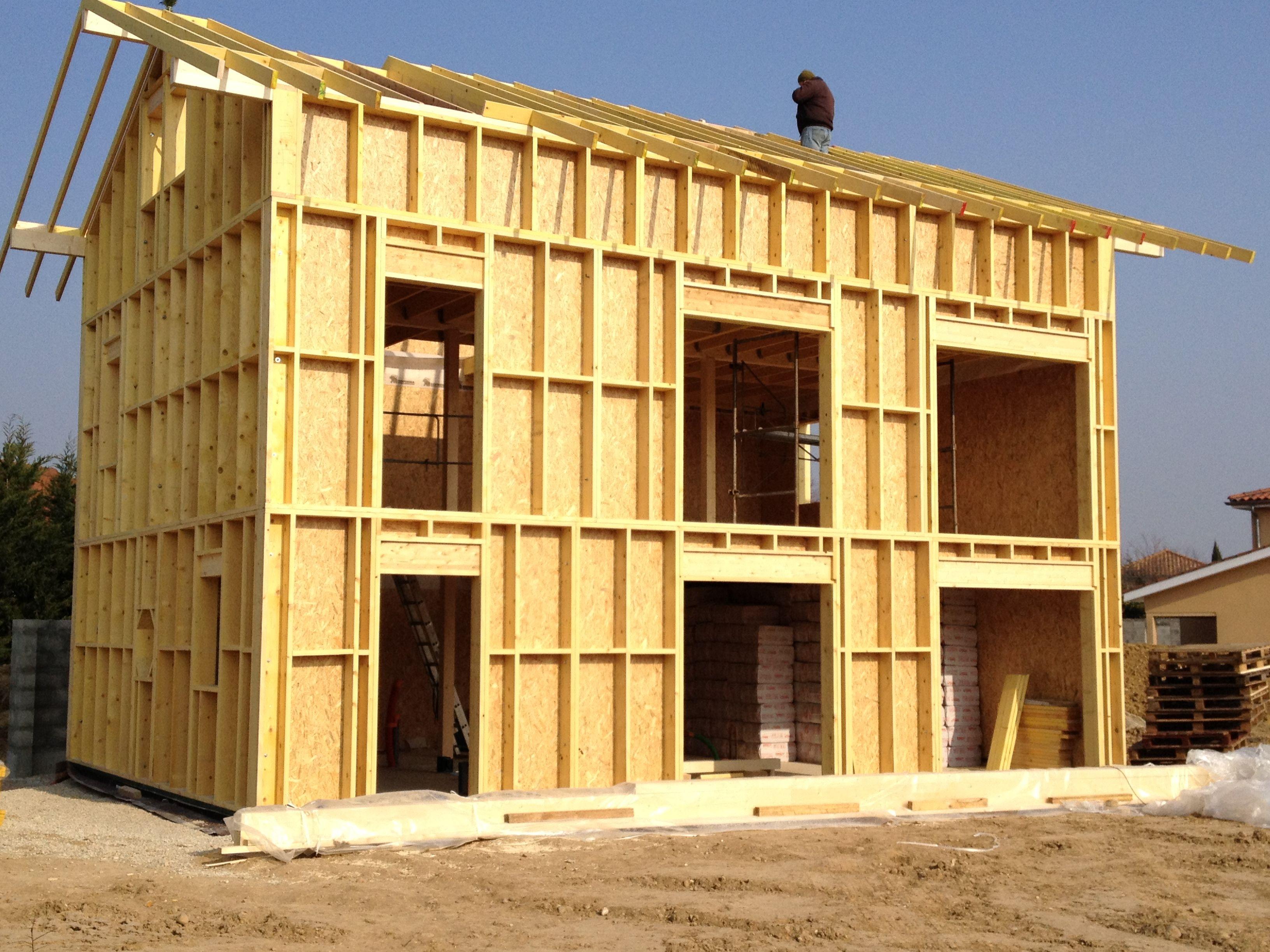Maison En Bois Annecy maison bois ossature bois | maison ossature bois, maison