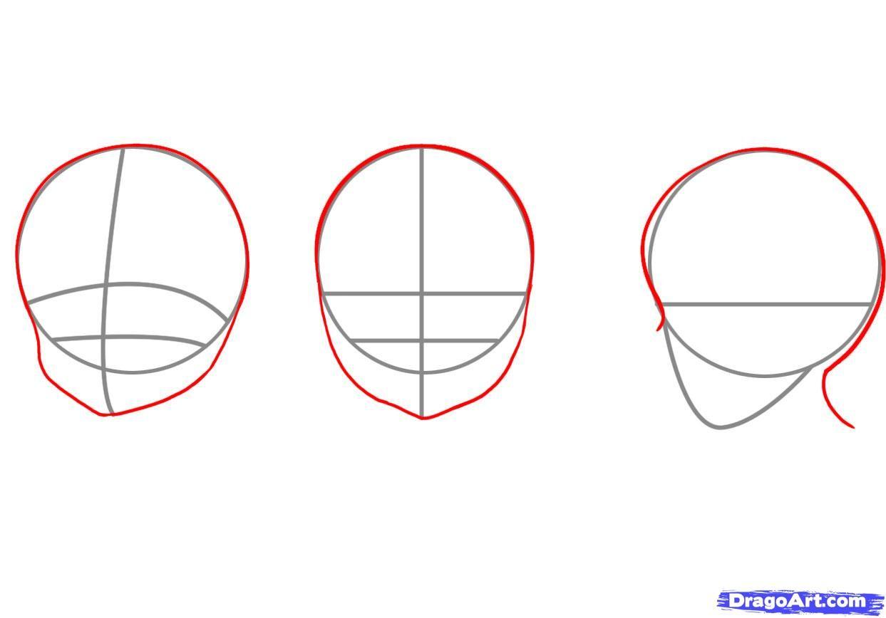 How to draw manga girls step 5