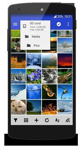 Apklio Apk for Android MiXplorer 6.1.6 apk Landscape