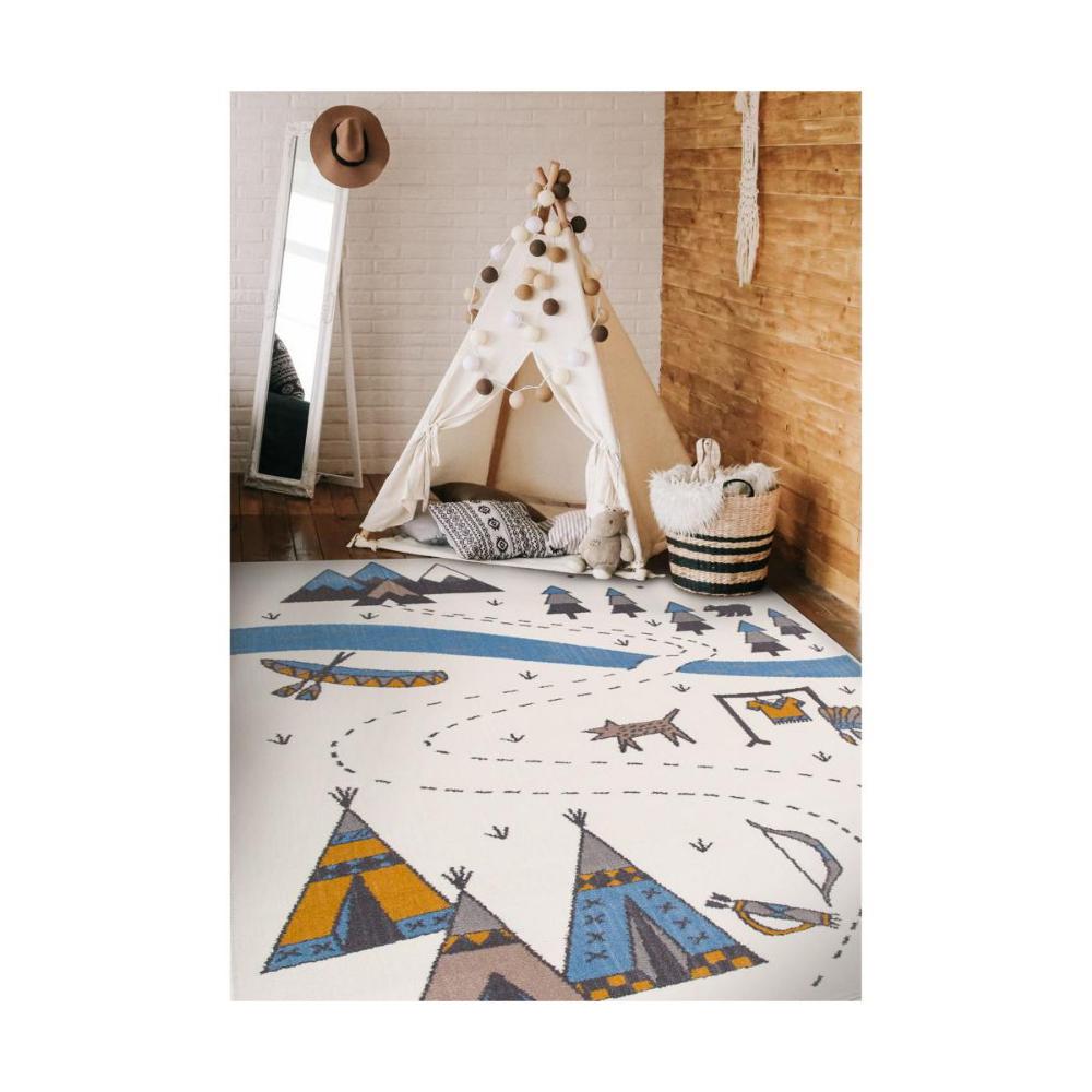 Dywan Dzieciecy Indian Perlowy 133 X 190 Cm Inspire Dywany Wewnetrzne W Atrakcyjnej Cenie W Sklepach Leroy Merlin Kids Rugs Carpet Decor