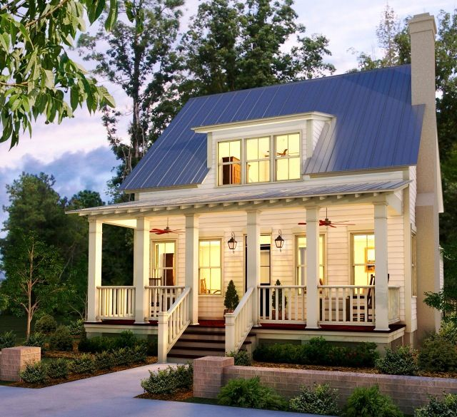 I Would Rather Have A Small House Than A Big House Cottage Style Homes Cottage Homes House Styles