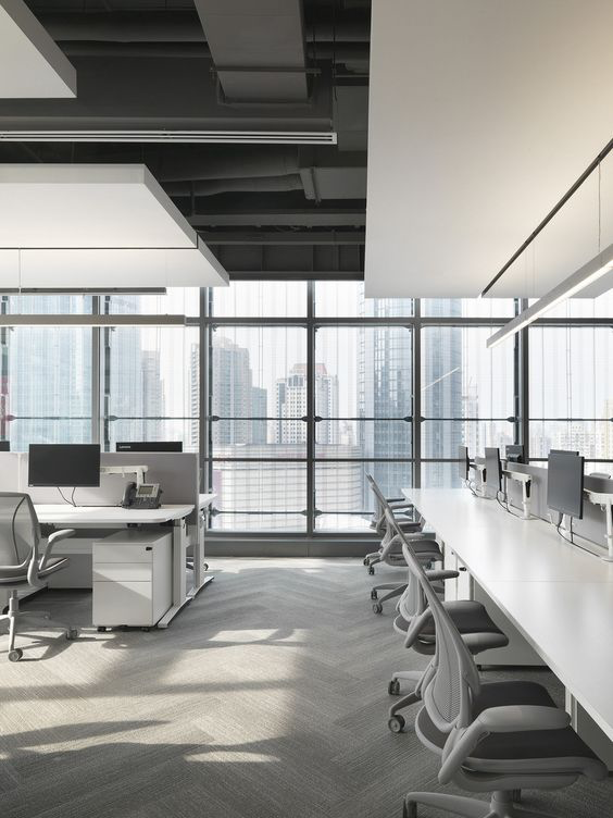 Commercial Office Interior Design Office Interior Design Company Office Interior Design Software Free In 2020 Office Interior Design Open Office Office Space Design