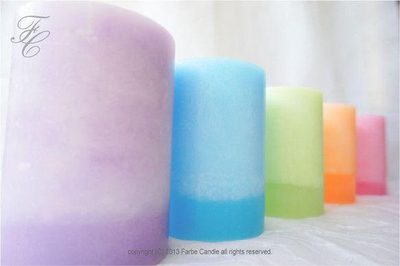 Farbe Candleをお気にとめていただきありがとうございます。~Die Farbe シリーズ~○ Die Farbe (ディ ファルベ) ドイツ語で色と...|ハンドメイド、手作り、手仕事品の通販・販売・購入ならCreema。