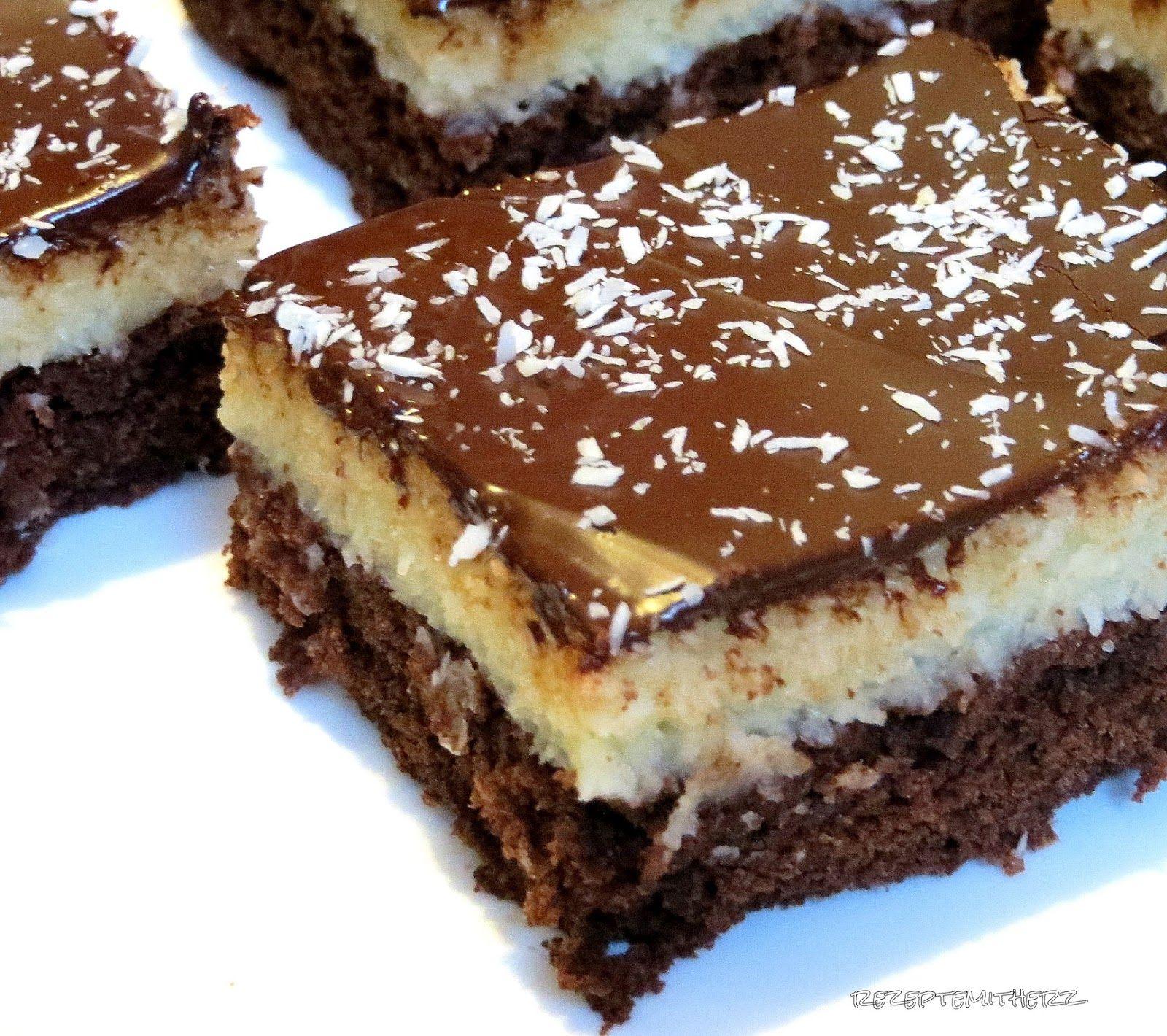 Wer Bounty Riegel mag dem schmeckt auch bestimmt ser Kuchen Herrlich saftig und gar nich