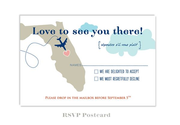Planning A Destination Wedding In Florida Invitations Are Our Fun To Design Especially For The Winter Weddings