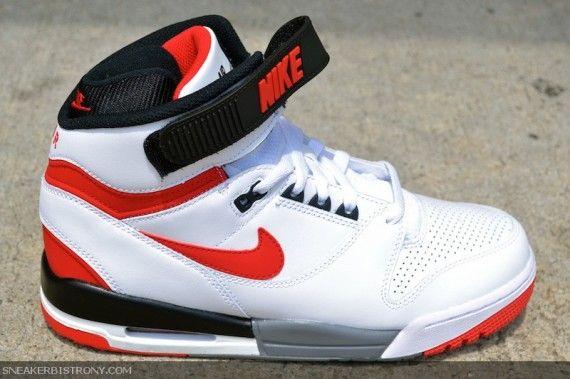 Nike Air Revolution WhiteRed | Mens nike shoes, Best