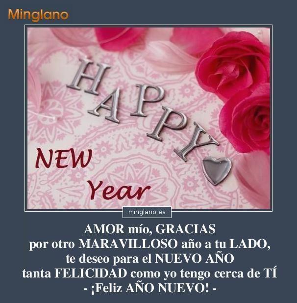 Frase Para Felicitar El Ano Nuevo A La Persona Amada Al Novio O Al