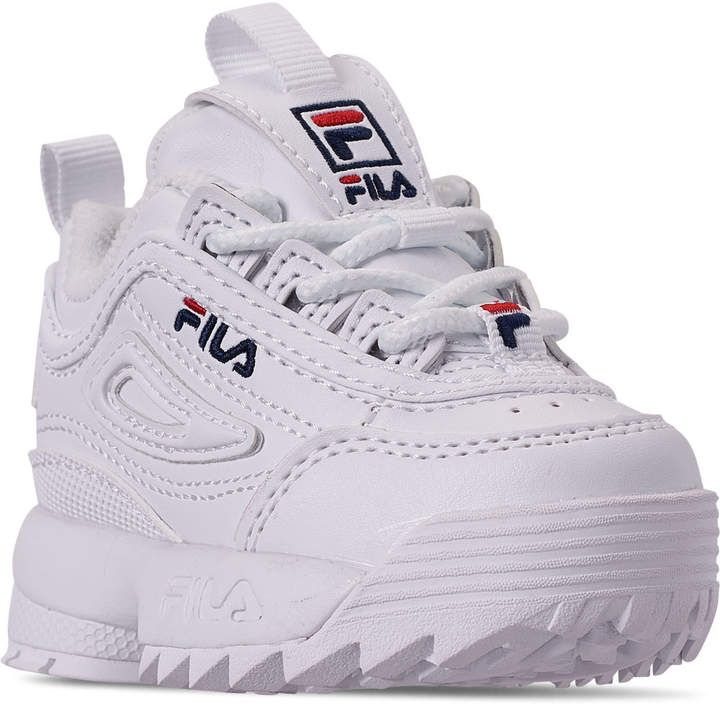 Kids' Toddler Fila Disruptor 2 Casual Shoes
