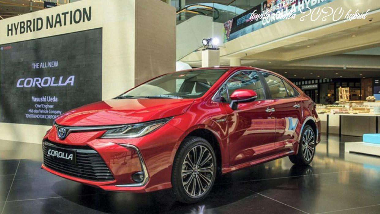 Toyota Corolla 2020 Hybrid In 2020 Toyota Corolla Toyota Corolla