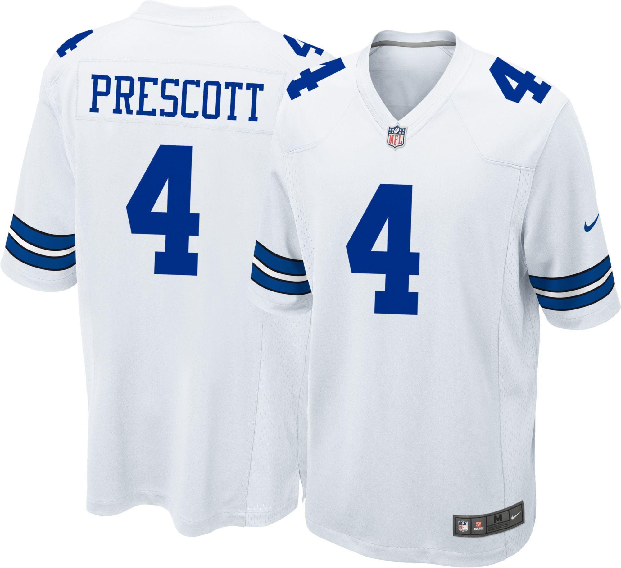 8eac7c16c Nike Men s Game Jersey Dallas Cowboys Dak Prescott  4 in 2019 ...