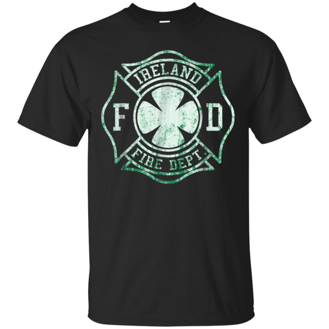 99promocode Ireland Fire Department Irish Firefighter T