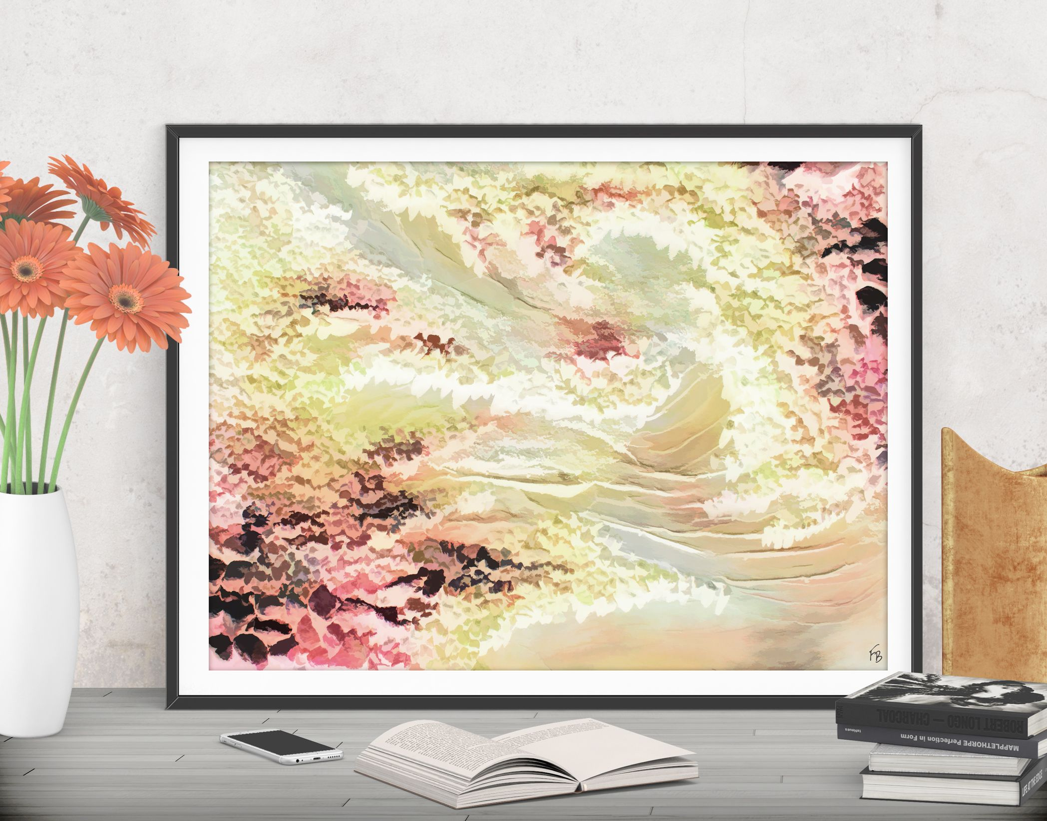 Nursery abstract art DIGITAL PRINT, Wall decor baby shower gifts for ...