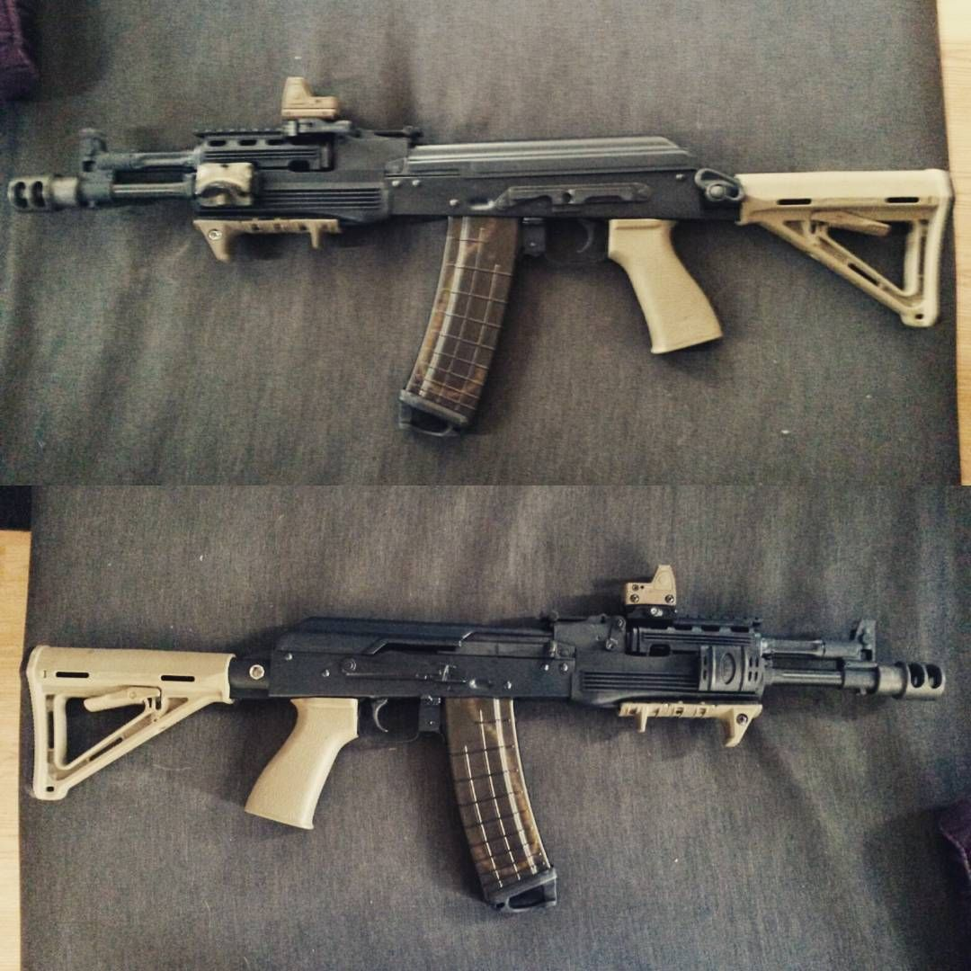 my new el ak  pmc custom waiting for magpul moe furniture and  - waiting for magpul moe furniture and pmags to