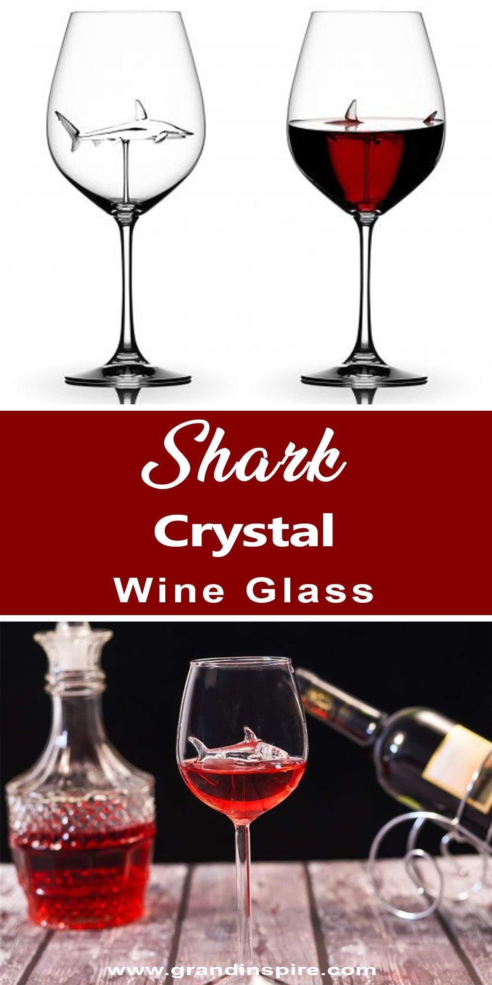 Crystal Glass Shark Valentinesdateathomedecor Wine 35 Shark Crystal Wine Glass 35 Shark Crystal Wine Glass Grand Inspire Gra In 2020 Wine Glass Wine Red Wine Cups