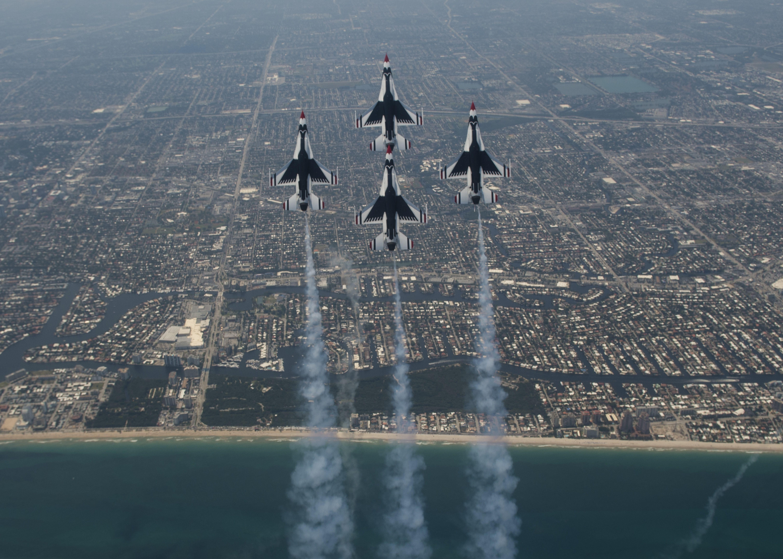 Trip 7 2 Ft Lauderdale Fla Usaf Thunderbirds Air Show Lauderdale