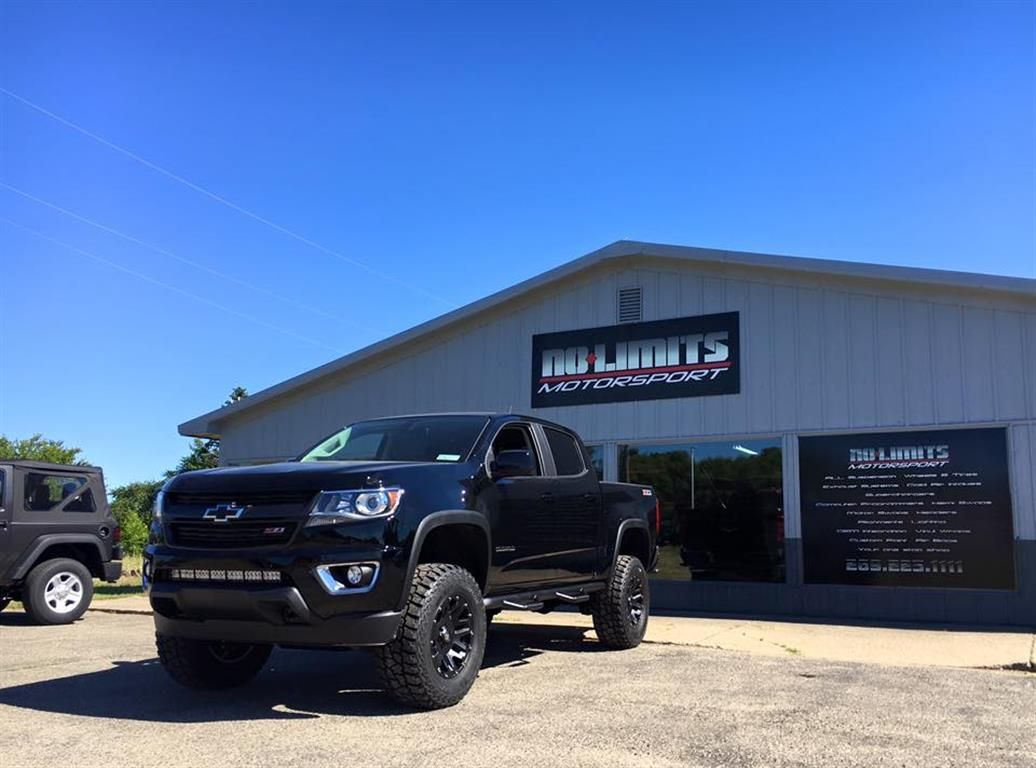 Lifted 2016 chevy colorado by no limits motorsport in plainwell mi click to view more