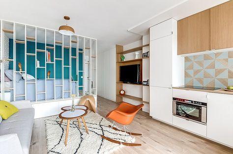 25 mq di energia in quel di Parigi   cucina   Appartamento ...