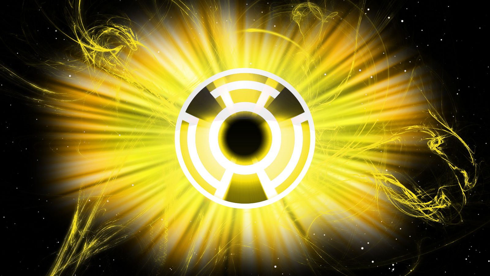 Symbol Of The Sinestro Corps Yellow Lanterns