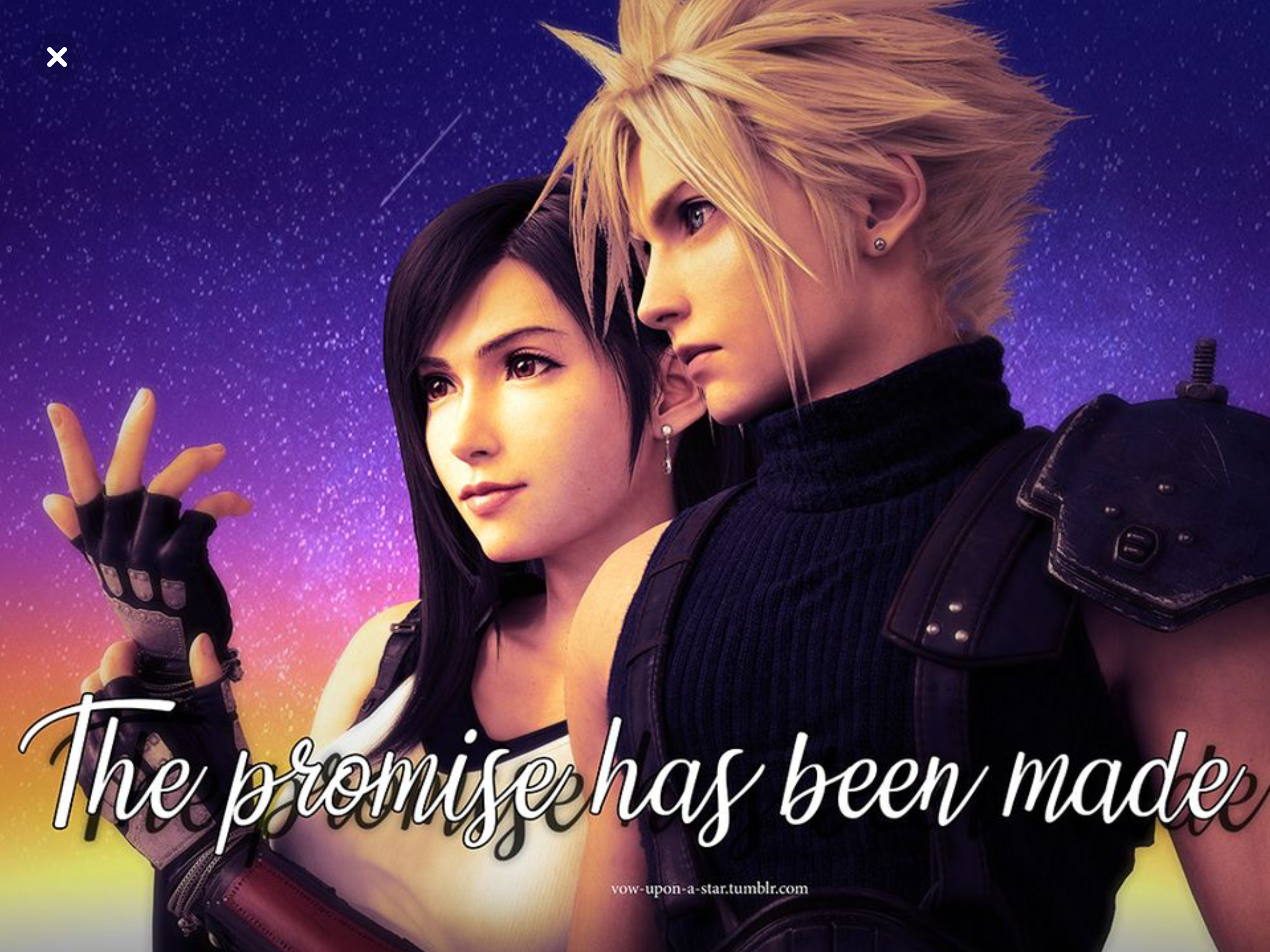 Cloud And Tifa Matching Icons Cloud And Tifa Matching Icons Icon