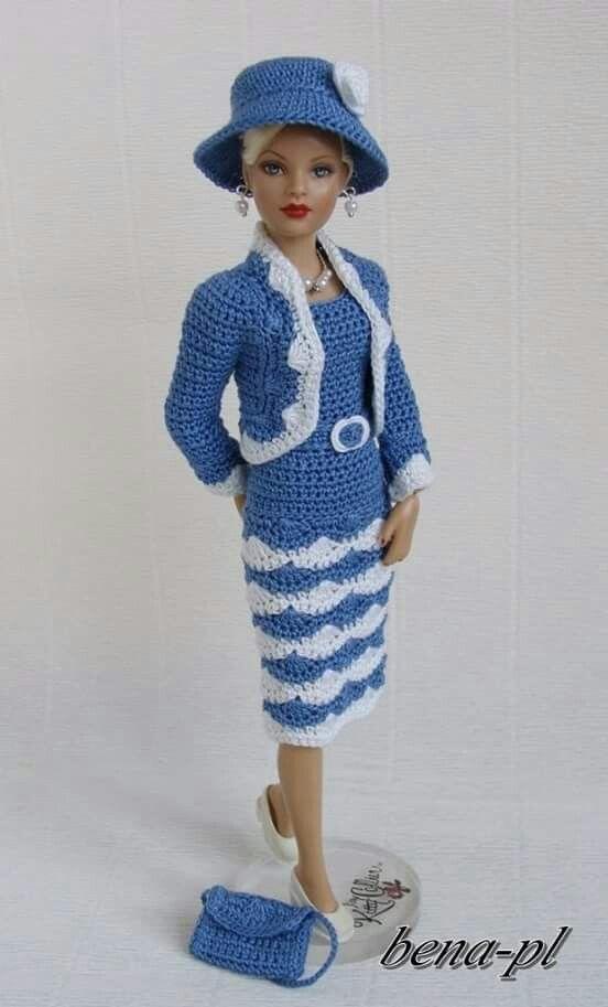 Pin von Lucky Sigi auf Barbie   Pinterest   Barbie kleider, Stricken ...